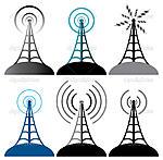 Нажмите на изображение для увеличения.  Название:depositphotos_8202691-Vector-radio-tower-symbols.jpg Просмотров:45 Размер:190.1 Кб ID:49802